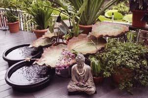 รูปปั้น และ น้ำพุ ฮวงจุ้ย