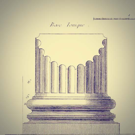 base_ionique_เสาโรมัน